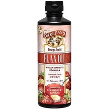 Strawberry Banana flavored Barleans Flax Oil Swirl