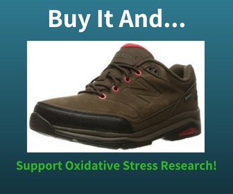 Buy New Balance trail shoes for Men and Support Oxidative Stress Research