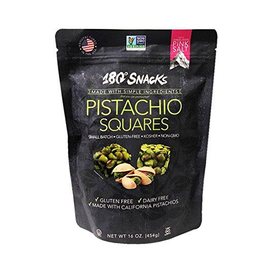 180 degrees Snack of Pistachio Squares