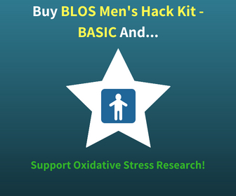 Buy The BLOS Men's Hack Kit - BASIC and Support Oxidative Stress Research