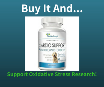 Buy this Supplement with Antioxidants for your Dog and Support Oxidative Stress Research