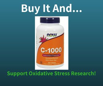 Buy the NOW Foods Vitamin C Supplement and Support Oxidative Stress Research