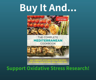 Buy The Mediterranean Diet Book and Support Oxidative Stress Research