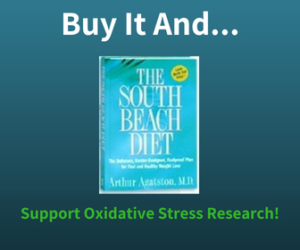 Buy The South Beach Diet Book and Support Oxidative Stress Research