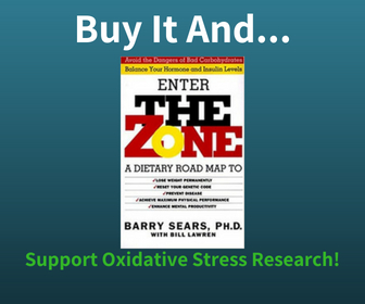 Buy The Zone Diet Book and Support Oxidative Stress Research