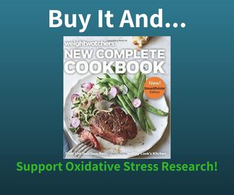 Buy the Weight Watchers Diet Book and Support Oxidative Stress Research
