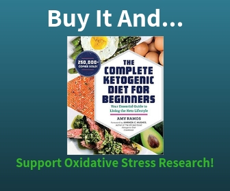 Purchase The Ketogenic Diet Book and Support Oxidative Stress Research