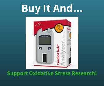 Purchase The CardioChek Cholesterol Starter Analyzer Kit and Support Oxidative Stress Research