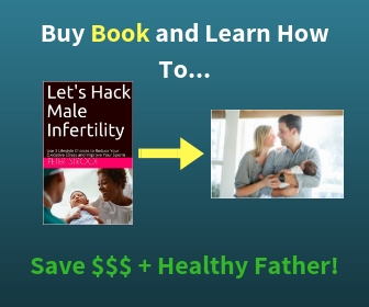 Book to Reduce Oxidative Stress and Hack Male Infertility