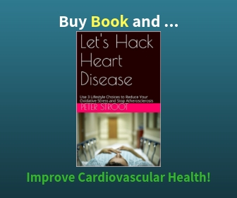 Book to Reduce Oxidative Stress and Hack Heart Disease