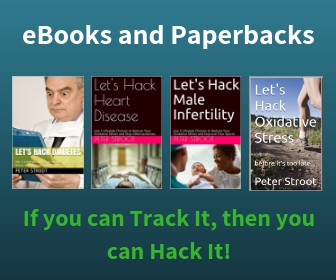 eBooks and Paperbacks for Hacking Health by Reducing Blood Oxidative Stress