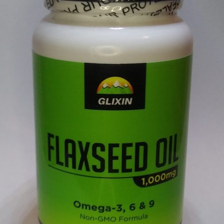 Glixin Flaxseed Oil Supplement 3-pack